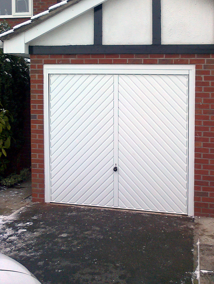 Retractable Garage Doors In Cheshire Supplied Fitted