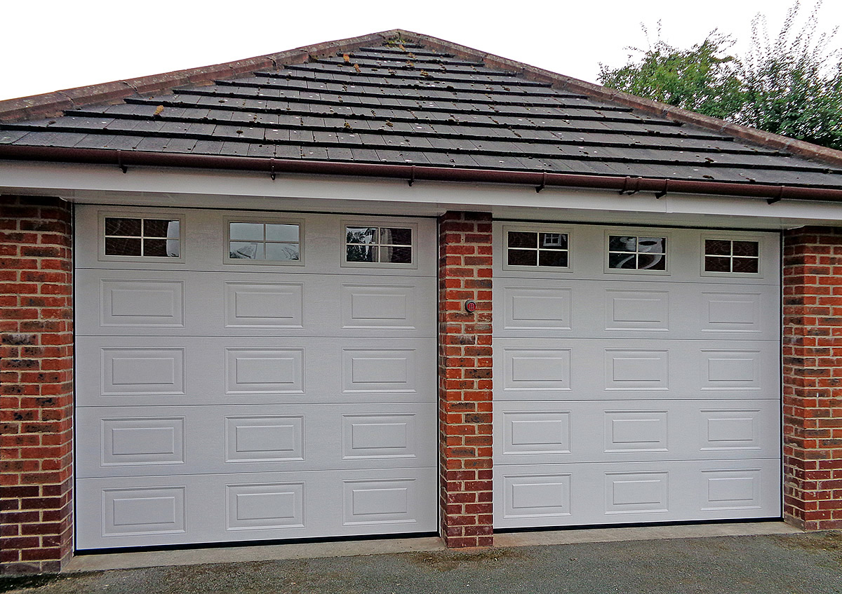 Sectional Garage Doors In Cheshire Supplied Fitted And